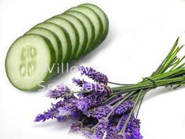 CUCUMBER LAVENDER Scented Candle (small)