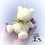 Thumbnail: Teddy Bear Candle (Large) Or Cake Topper