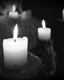 beeswax pillar candles