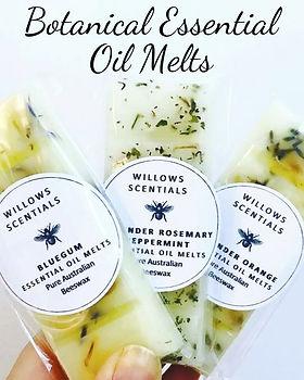 essential oil melts . botanical wax melts