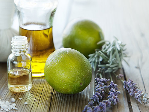 Lavender Lime Essential Oil Candle (small)