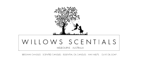 Willows Scentials Beeswax Candles & Oliv