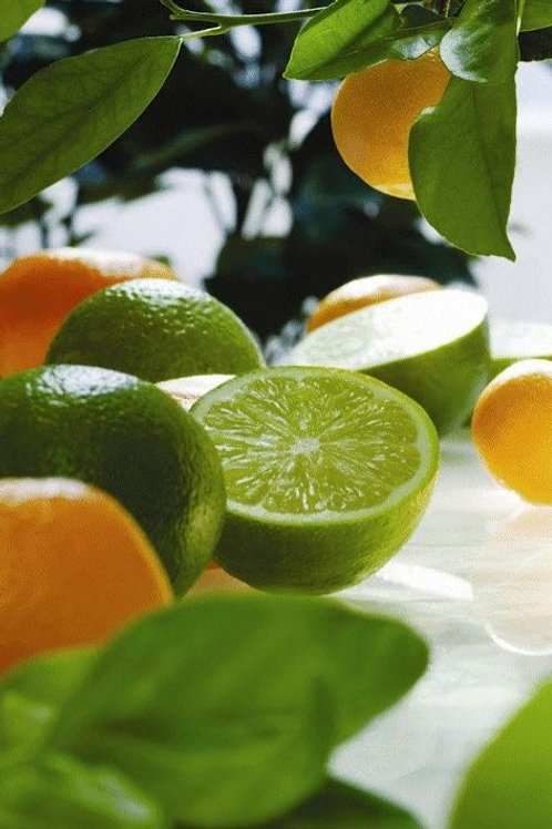 Lime, Basil, Mandarin Essential Oil Beeswax Melts