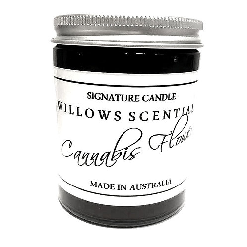 Cannabis Flower Scented Candle