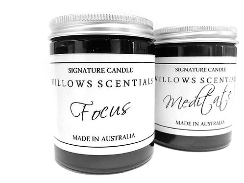 Focus Essential Oil Blend Jar Candle