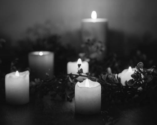 Large Pillar Candles