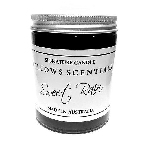 Sweet Rain Essential Oil Jar Candle
