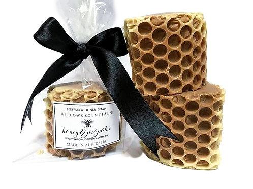 Honey & Propolis Soap ~ Olive Oil Soap