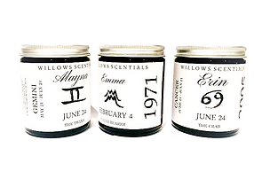 birthdate candles horoscope candles