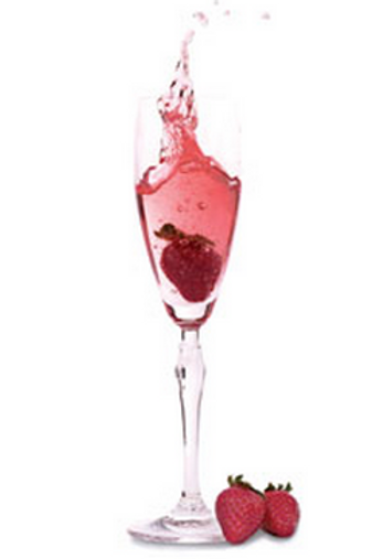 Prosecco Rose Scented Candle (small)