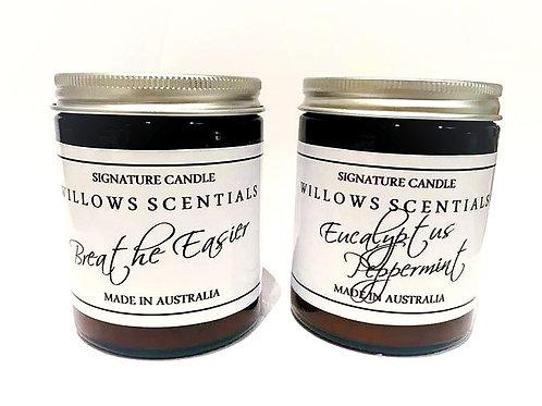 BREATHE EASIER Essential Oil Jar Candle