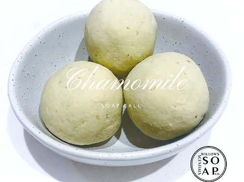 Chamomile Soap Ball ~ Olive Oil Soap