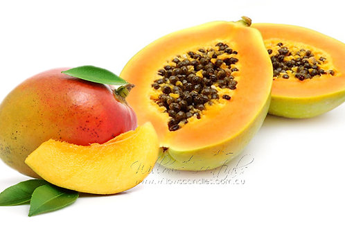Mango Papaya Fragrance Beeswax Melts