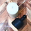 Thumbnail: Ribbed Pillar Beeswax Candle x 1
