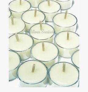 beeswax tealights tea light candles