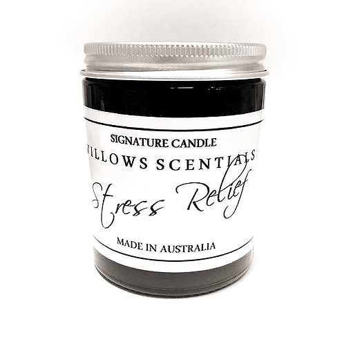 Stress Relief Essential Oil Blend Jar Candle