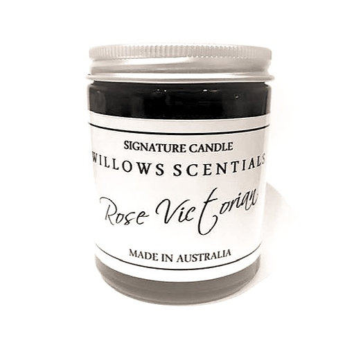 Rose Victorian Scented Candle
