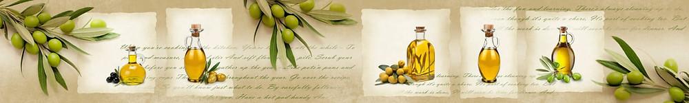 Изображение оливкового масла в стиле прованс