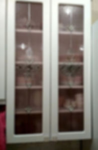 """Витражные стёкла с рисунком """"Дамаск"""" для кухонных фасадов, Липецк"""