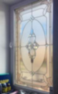 Витражное окно, классический стиль