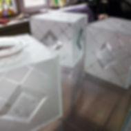 Пескоструйная обработка стекла, матовые рисунки на стекле
