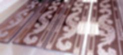 Изготовление зеркальной плитки с рисунком на заказ в Липецке