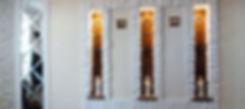 Изготовление витражей для ниш с подсвекой в Липецке