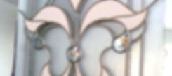Пленочные витражи с фацетами в классическом стиле, изготовление в Липецке