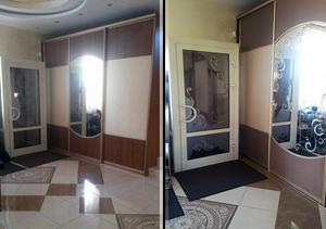 До и После декорирования интерьера
