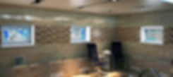 Витражи на стеклопакетах для СПА-бассейна на заказ в Липецке