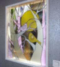 Витражи на заказ Липецк, витражное стекло для межкомнатных перегородок.