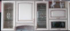 Кухонные фасады с витражами на заказ в Липецке