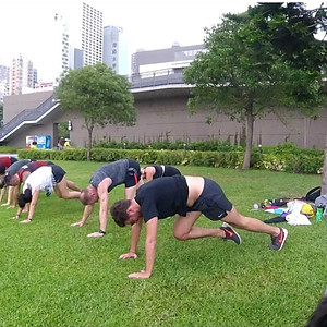 Outdoor Fitness Activity with Coach Ian Cowley