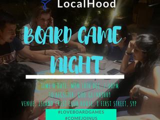 LocalHood Board Game Nite 🎲🀄👑