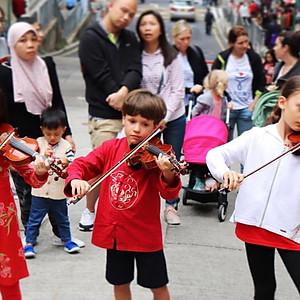 CNY Family Street party