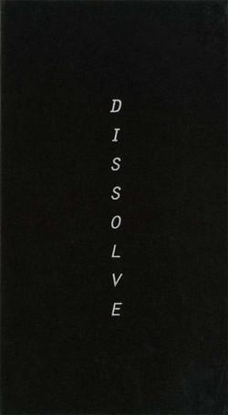 Dissolve - Cover