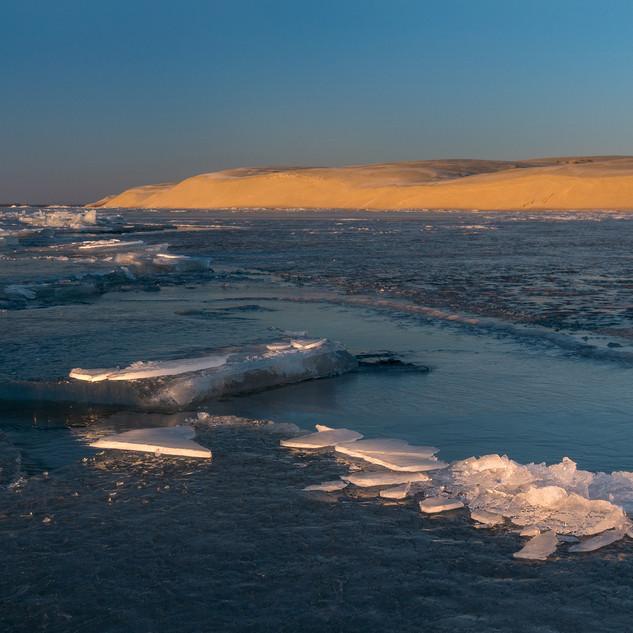Зима в дюнах