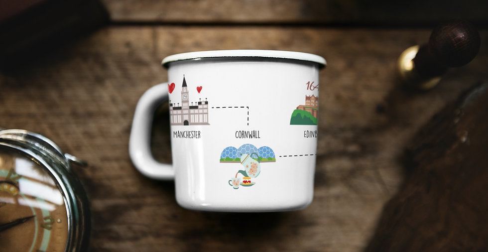 Personalised mug design