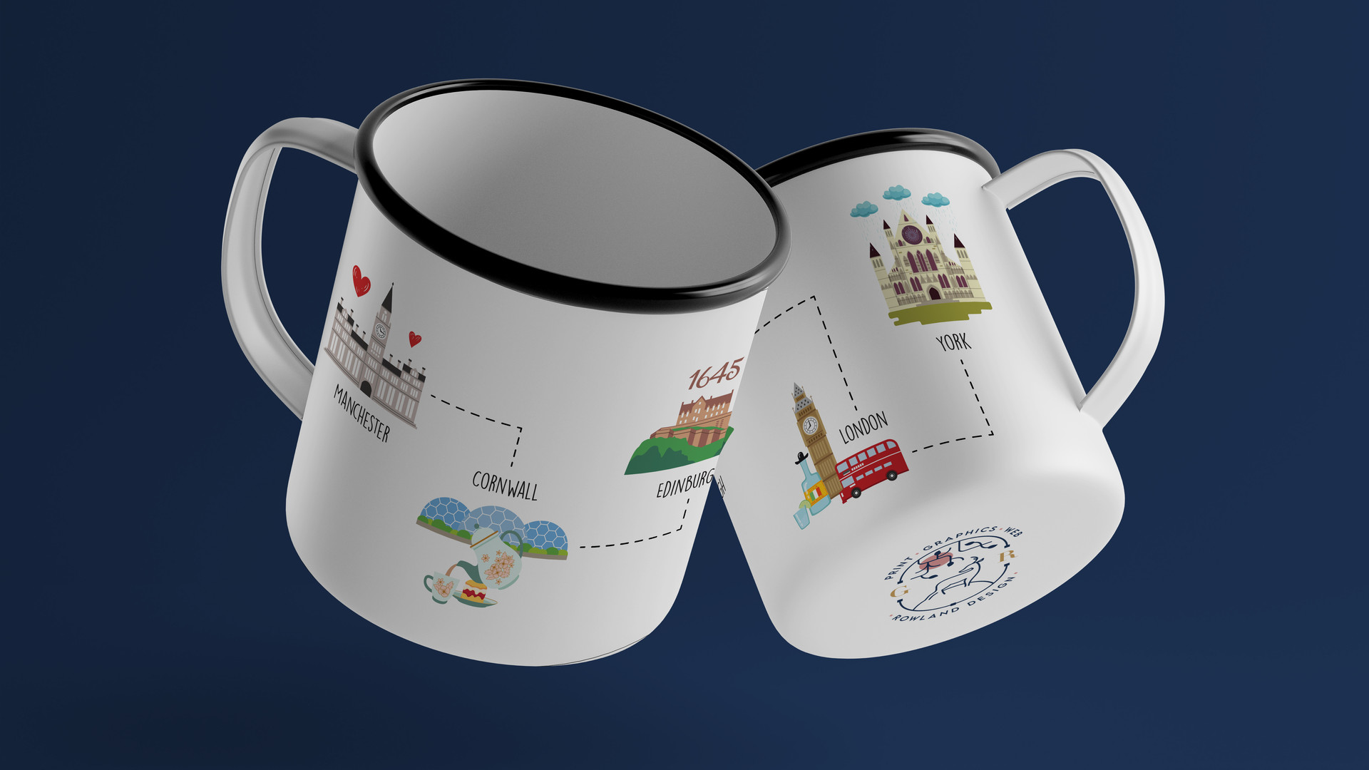 Personalised Destination Mug
