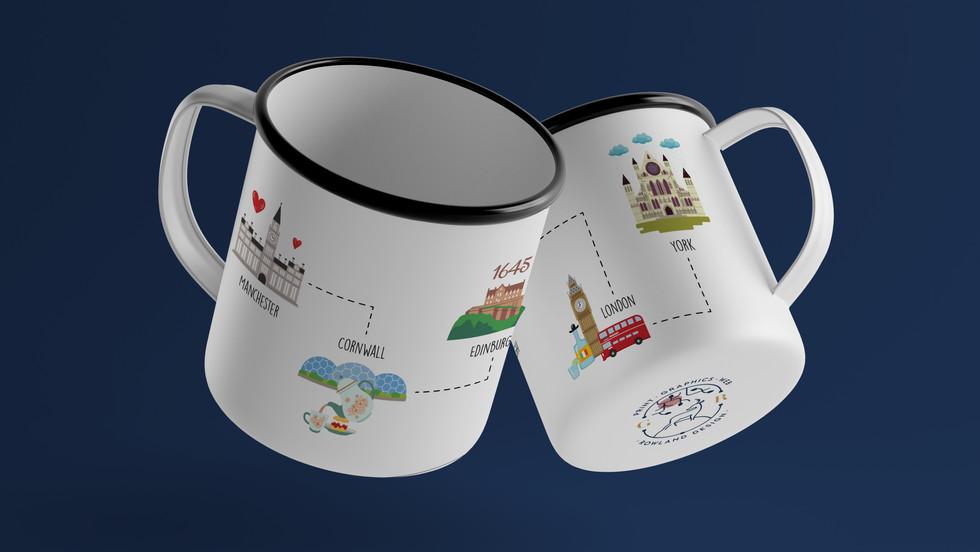 Personalised Destination Mug