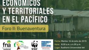 II Foro público: Retos ambientales, socioeconómicos y territoriales en el Pacífico
