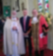 Bishop Jonathan Luke Pollard MP, Lord Mayor Plymouth