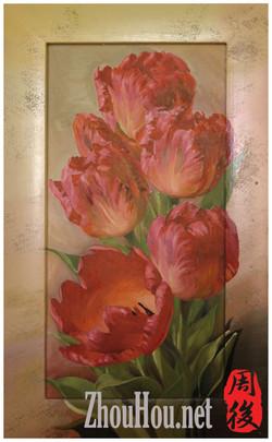Flower-tulips