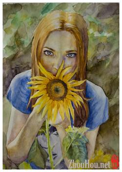 portrait_sunflower_website