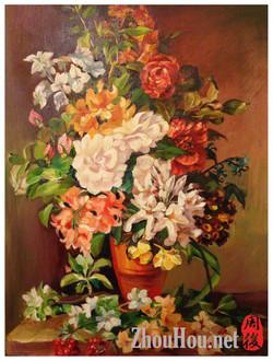 A buket of flowers