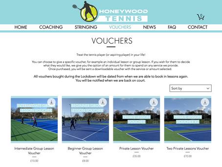 Tennis Vouchers