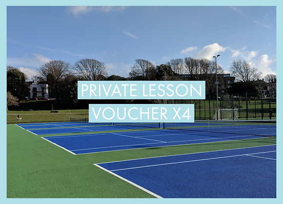 Four Private Lessons Voucher