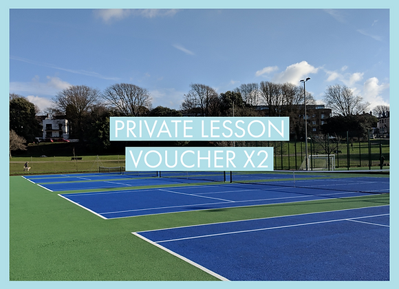 Two Private Lessons Voucher