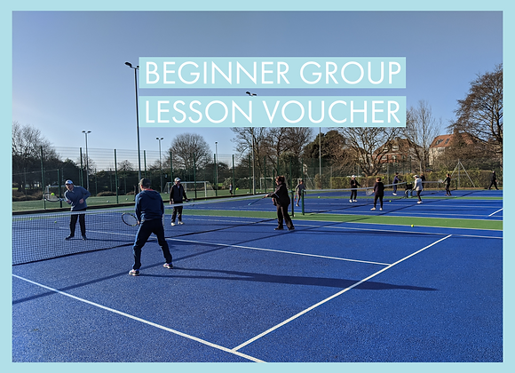 Beginner Group Lesson Voucher