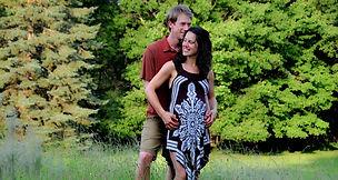 Engagement photo at Ohiopyle